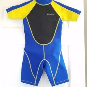 NWOT Junior Shorty Wetsuit Age 5-6